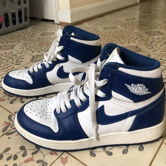 Nike Air Jordan 1 Retro Storm Blue Women Size 6